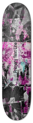 Pink Graffiti Graphic