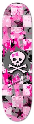 Pink Bow Skull