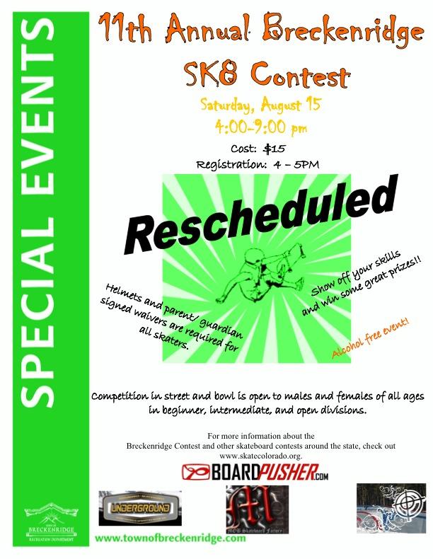 11th Annual Breckenridge SK8 Contest