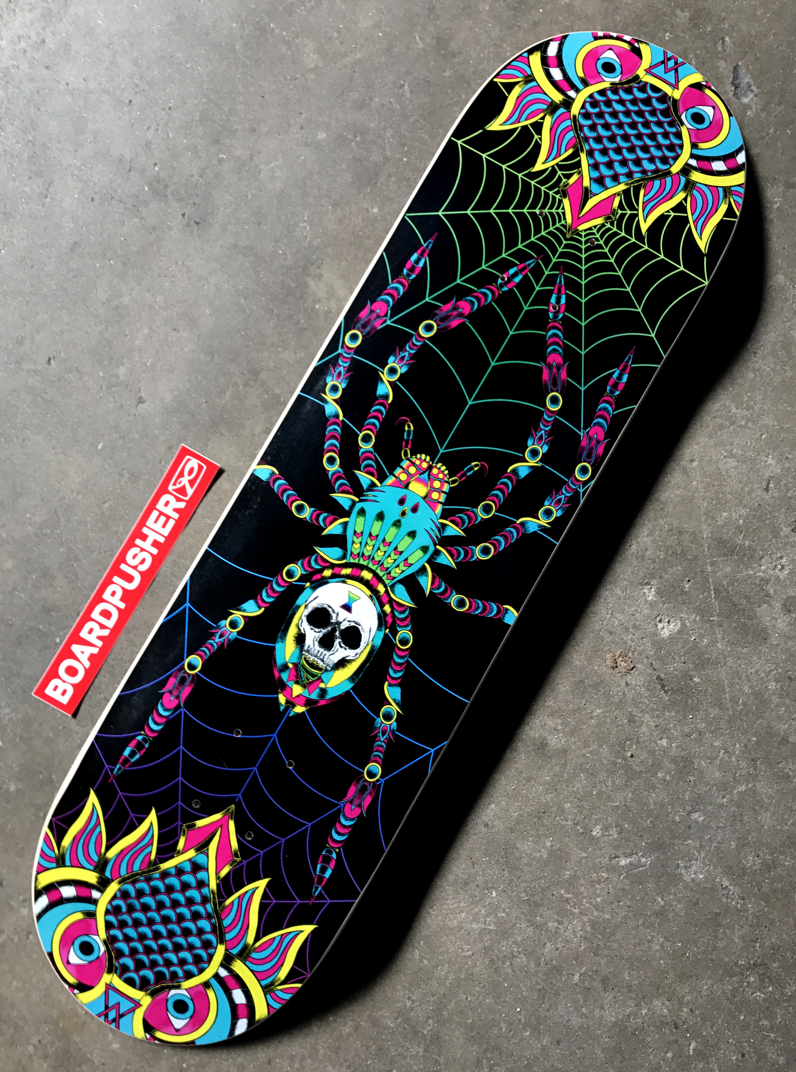 """Featured Deck Of The Week: """"Spider"""" By Richard Leard"""
