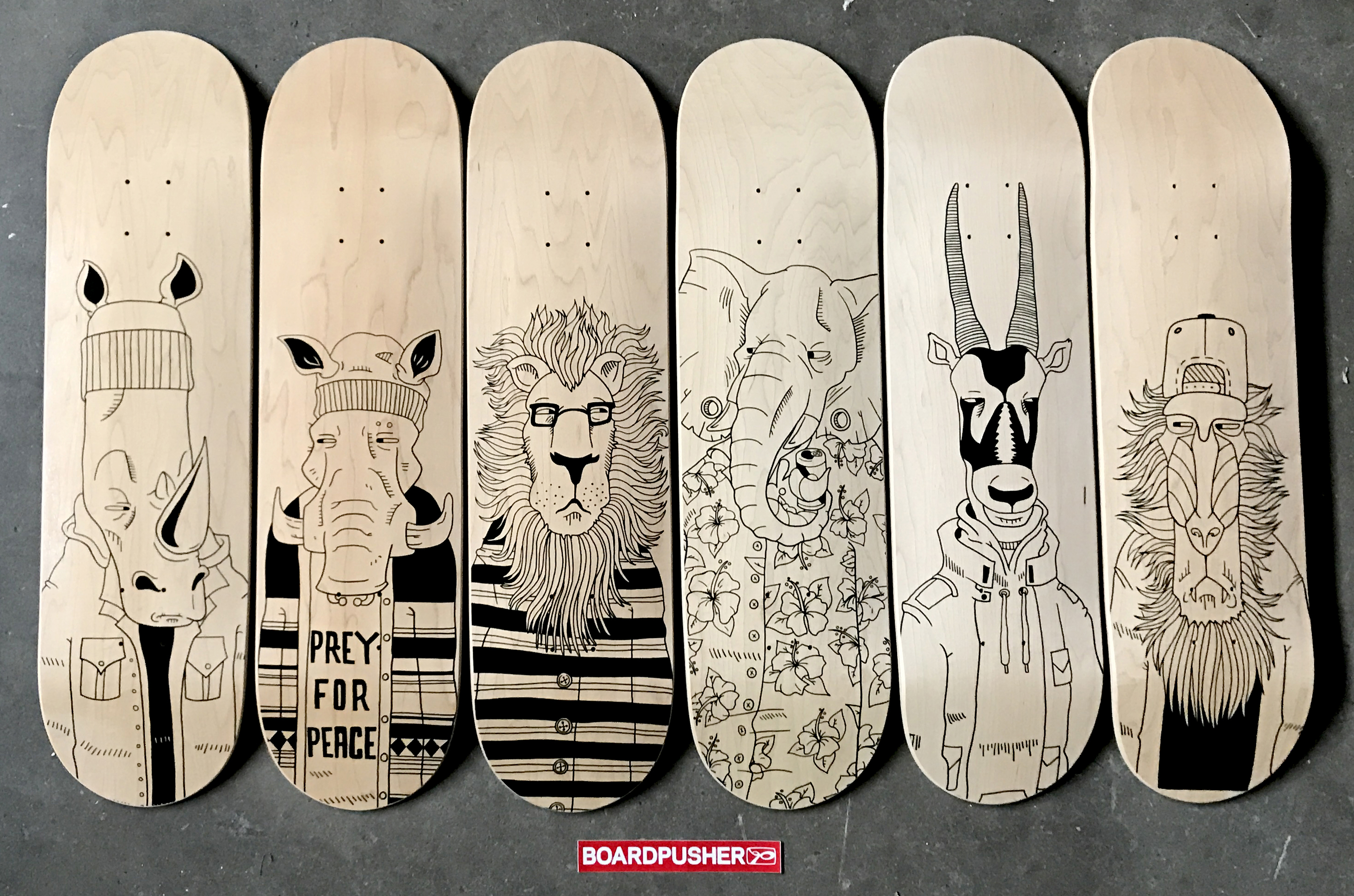 Featured Decks of the Week by Christian Sayer Pedersen