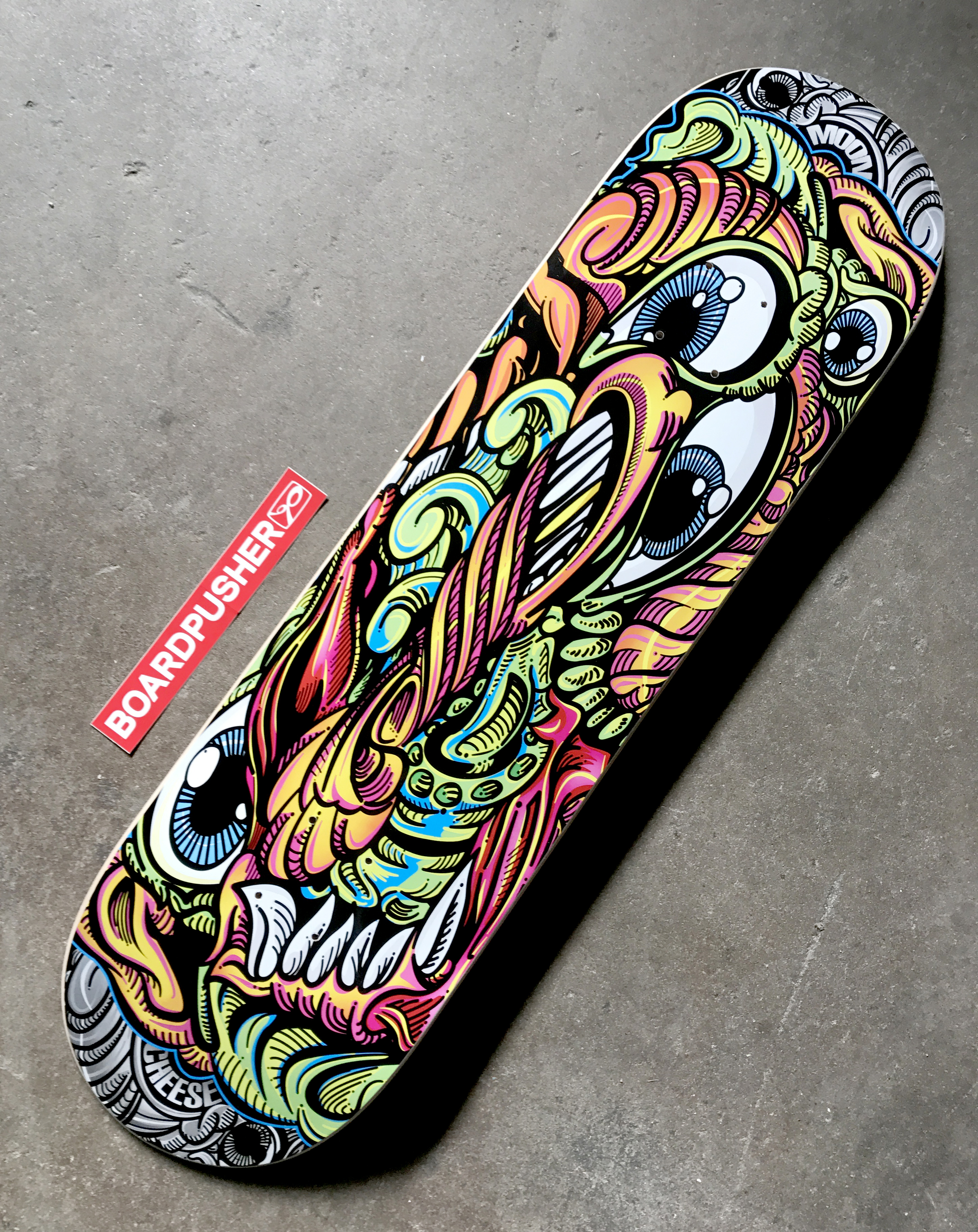 Featured Deck Of The Day Monkey On Acid By Ryan Halub