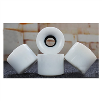 "Blank 60mm (Solid White) - Includes 1/4"" Risers"