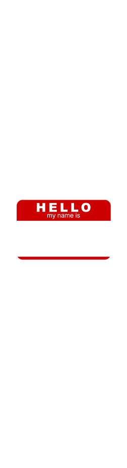 My Name Is.. (transparent)