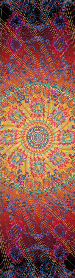 Abstract / Psychedelic Spiral Design