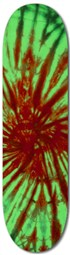 Red and Green Tie Dye