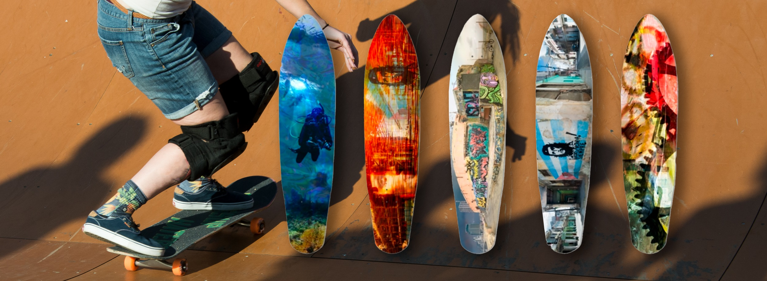 Andrew Child Fine Art Skateboards